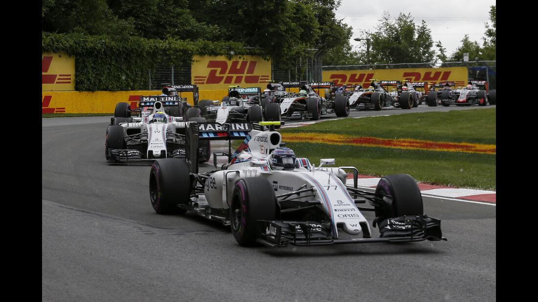 Williams - GP Kanada 2016