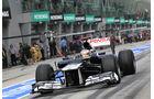Williams - GP Malaysia 2012