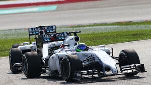 Williams - GP Malaysia 2014