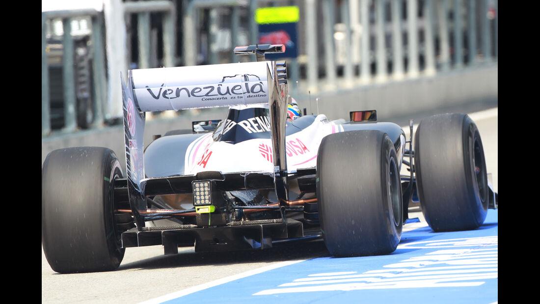 Williams - GP Malaysia - Training - 23. März 2012