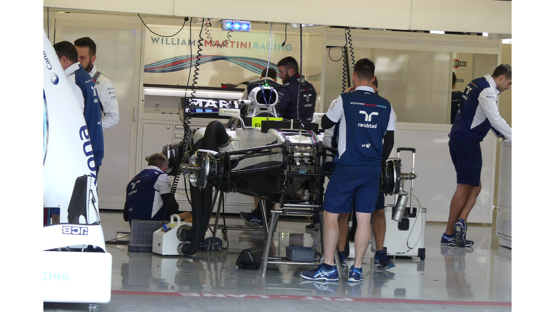 Williams - GP Mexiko - Formel 1 - Donnerstag - 26.10.2017