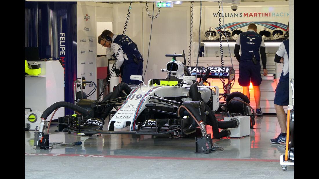 Williams - GP Mexiko - Formel 1 - Freitag - 27.10.2017