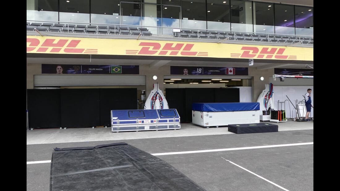 Williams - GP Mexiko - Formel 1 - Mittwoch - 25.10.2017