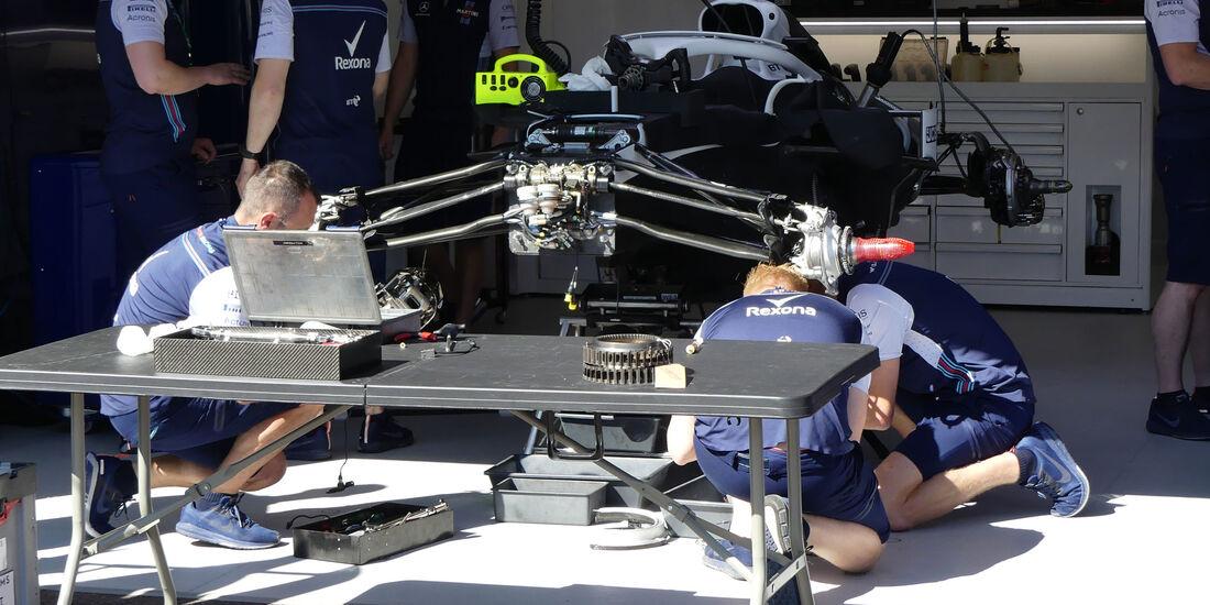 Williams - GP Monaco - Formel 1 - Mittwoch - 23.5.2018