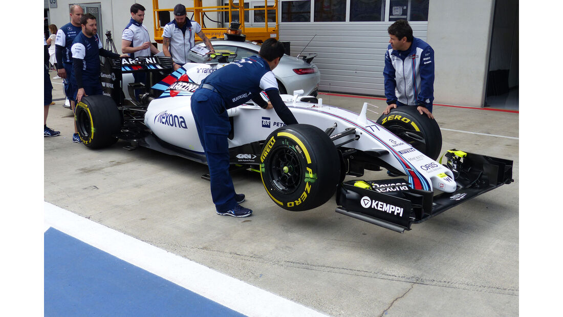 Williams - GP Österreich - Formel 1 - Donnerstag - 18.6.2015