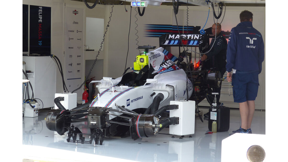 Williams - GP Österreich - Formel 1 - Freitag - 19.6.2015