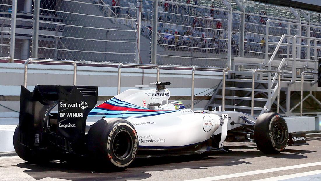 Williams - GP Russland 2014