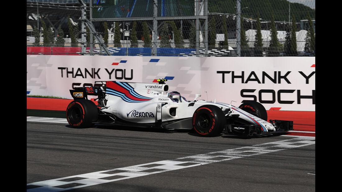 Williams - GP Russland 2017