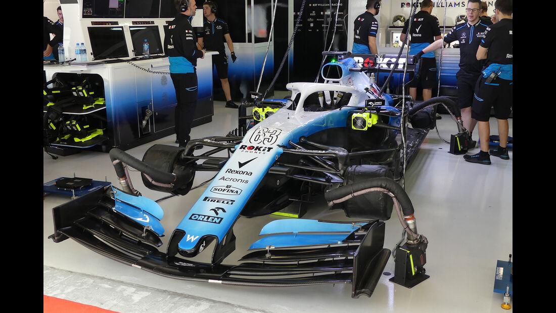 Williams - GP Russland - Sotschi - Formel 1 - Freitag - 27.9.2019
