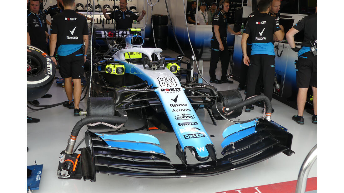 Williams - GP Singapur - Formel 1 - Freitag - 20.9.2019