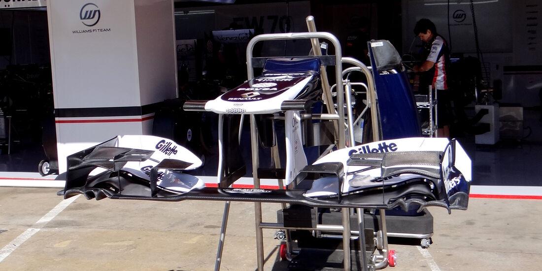 Williams - GP Spanien - 10. Mai 2012
