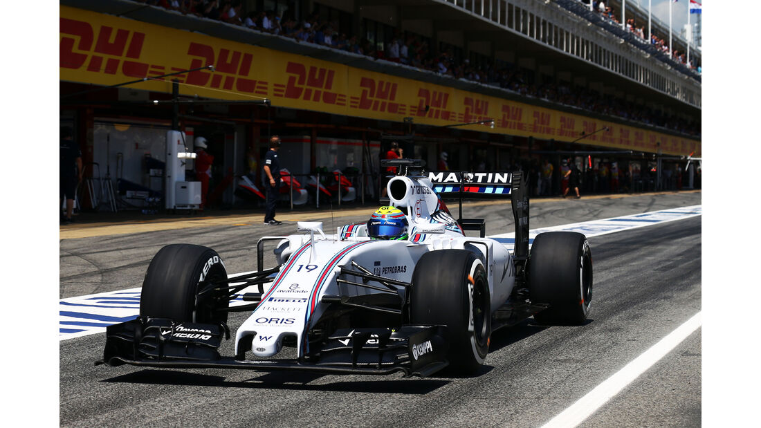 Williams - GP Spanien 2015