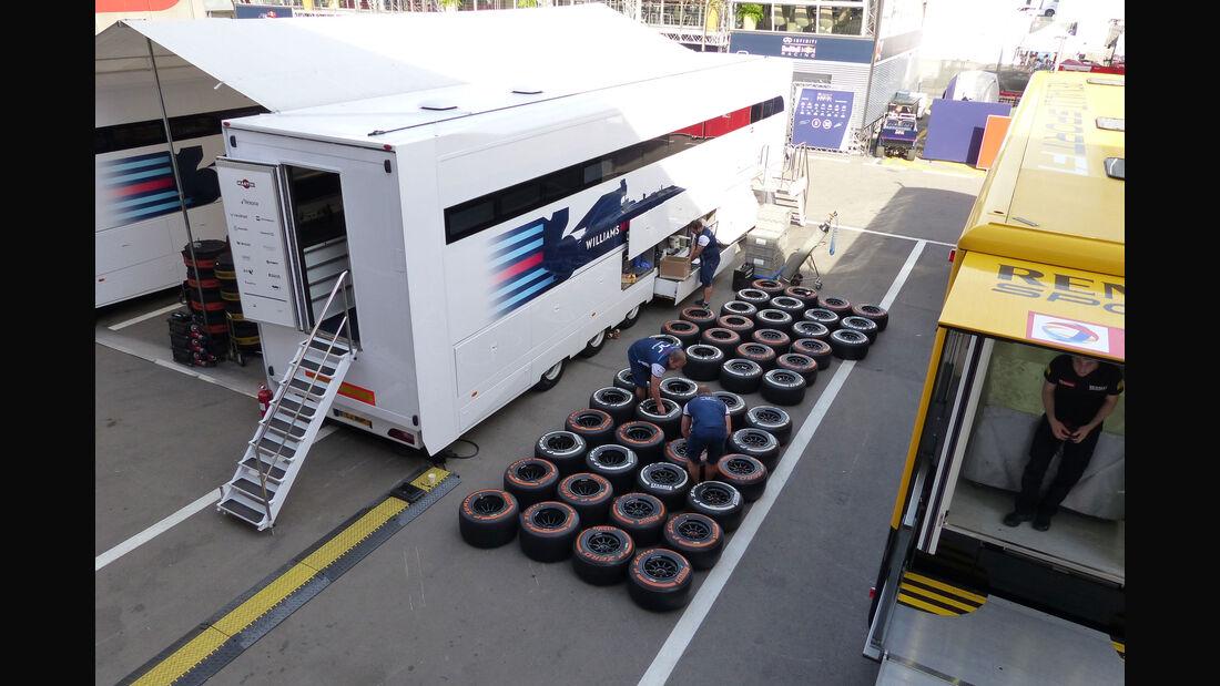 Williams - GP Spanien 2015 - Barcelona