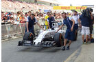 Williams - GP Spanien - Barcelona - Donnerstag - 7.5.2015