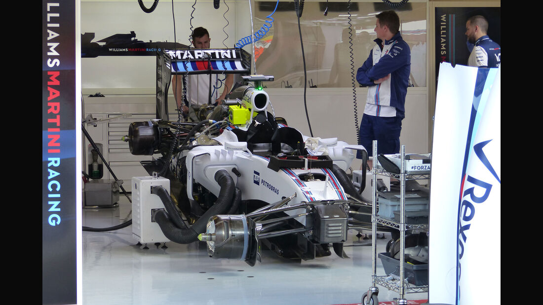 Williams - GP Spanien - Barcelona - Freitag - 8.5.2015
