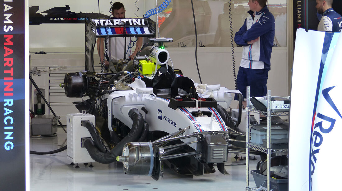 Williams - GP Spanien - Barcelona - Freitag - 8.5.2015