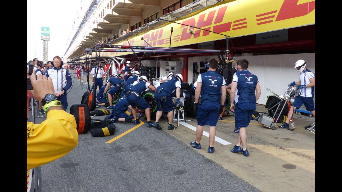 Williams - GP Spanien - Samstag - 9.5.2015