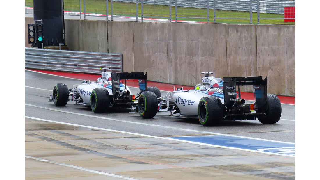 Williams - GP USA 2015