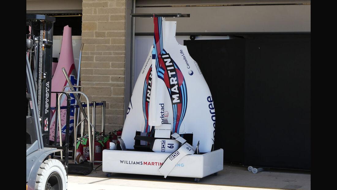Williams - GP USA - Austin - Formel 1 - Mittwoch - 18.10.2017