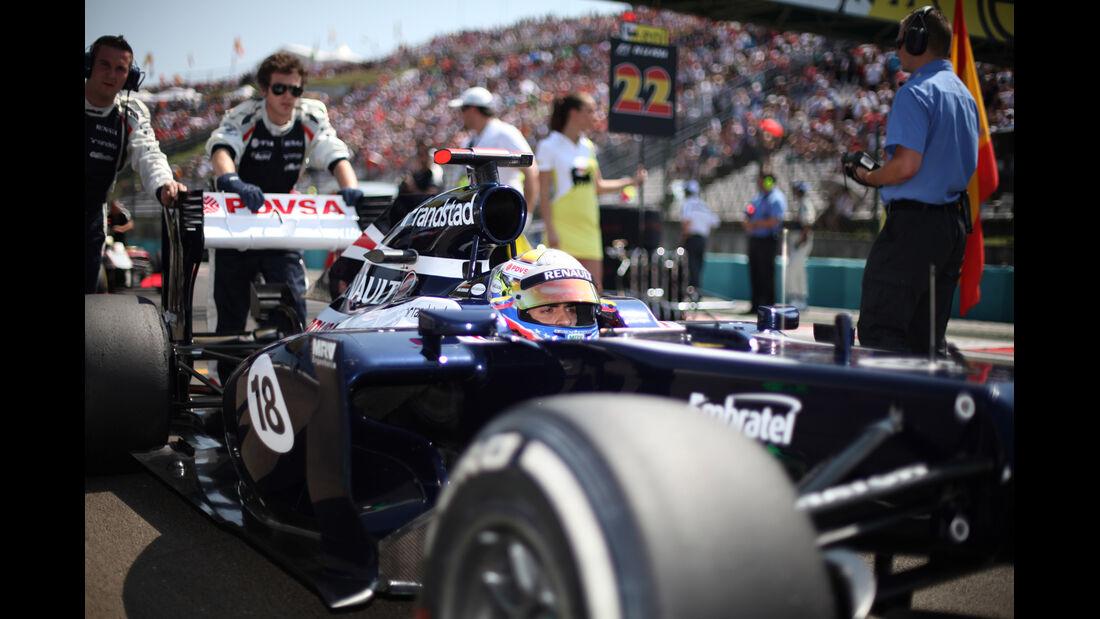 Williams GP Ungarn 2012