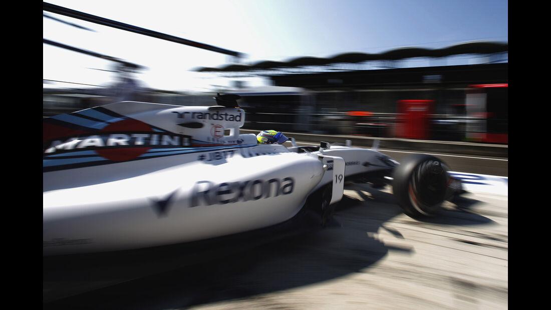 Williams - GP Ungarn 2015