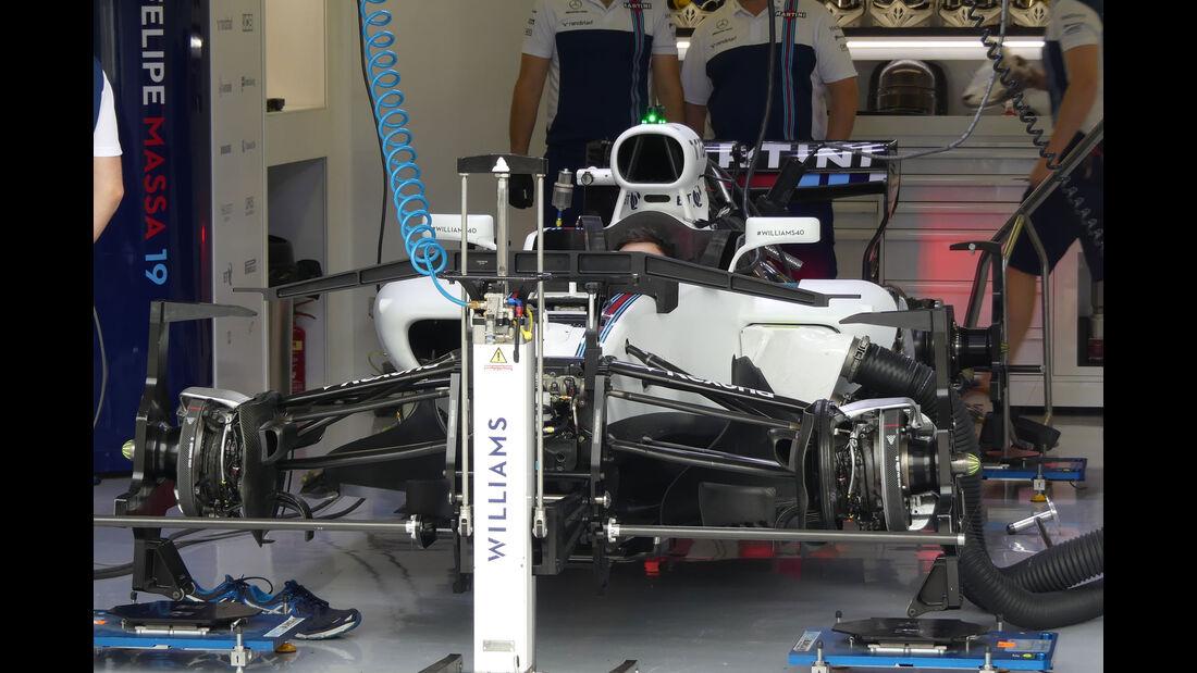 Williams - GP Ungarn 2017 - Budapest - Formel 1 - Donnerstag - 27.7.2017