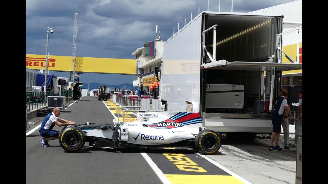 Williams - GP Ungarn 2017 - Budapest - Formel 1 - Mittwoch - 26.7.2017