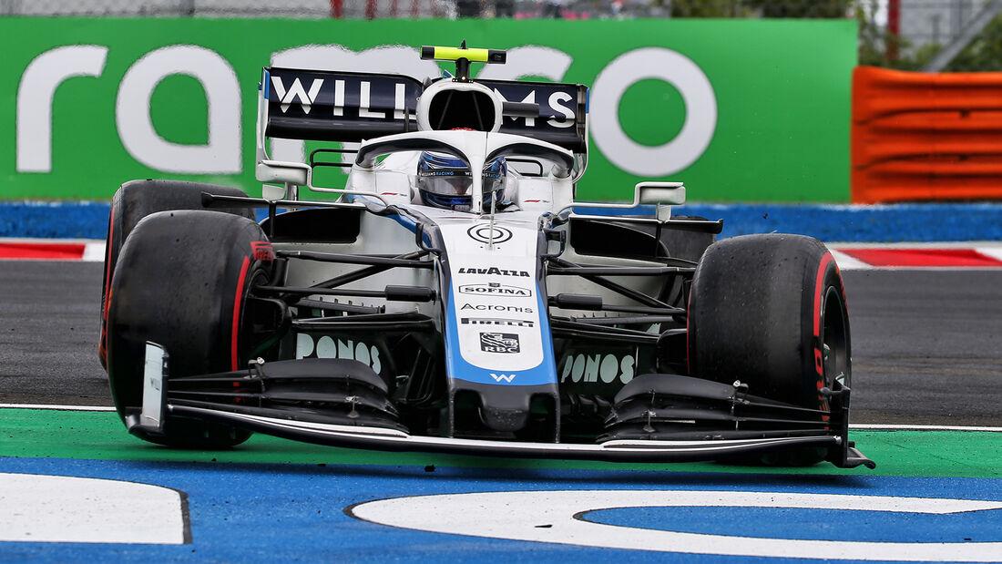 Williams - GP Ungarn 2020
