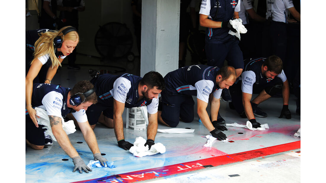 Williams - GP Ungarn - Budapest - F1-Test - 31. Juli 2018