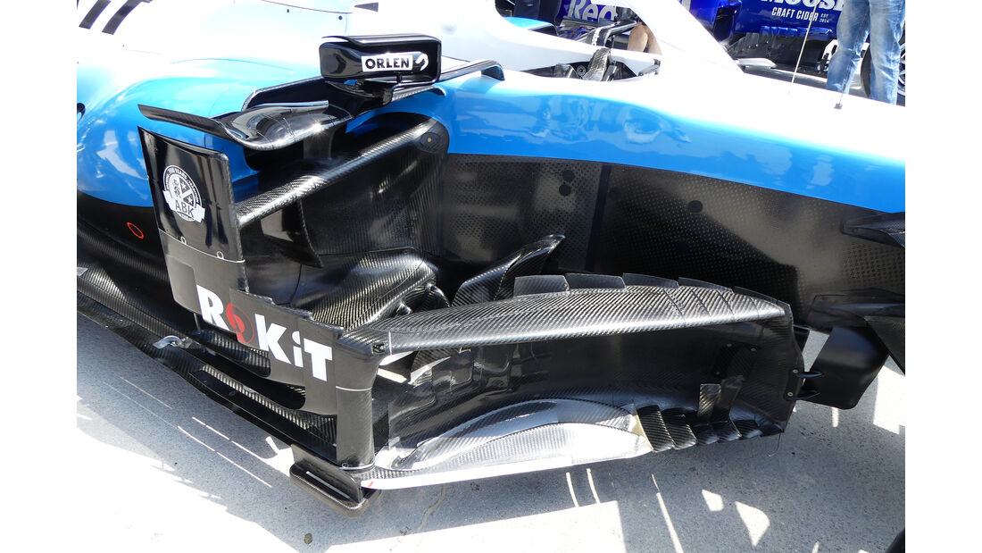 Williams - GP Ungarn - Budapest - Formel 1 - Donnerstag - 1.08.2019