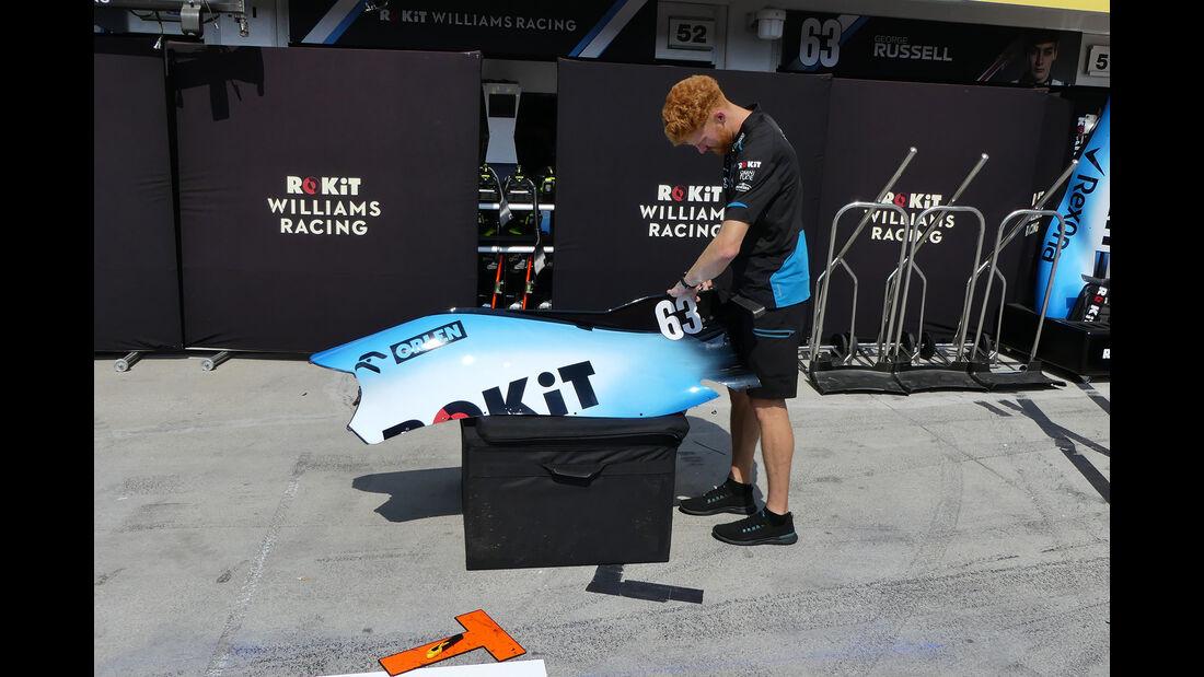 Williams - GP Ungarn - Budapest - Hungaroring - Mittwoch - 31.07.2019