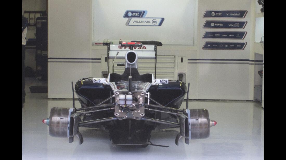 Williams - GP Ungarn - Formel 1 - 28.7.2011