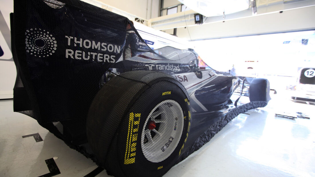 Williams Garage Netz GP Türkei 2011