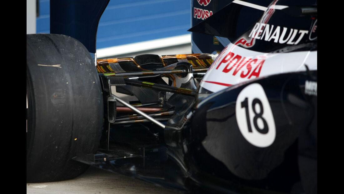 Williams Getriebe 2012