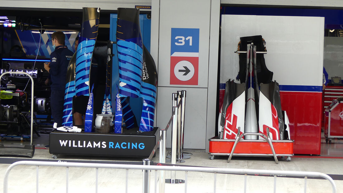 Williams - Haas - Formel 1 - GP Russland - Sotschi - Donnerstag - 23.09.2021