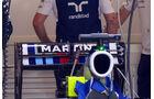 Williams Heckflügel - Formel 1 - GP Ungarn - 25. Juli 2014