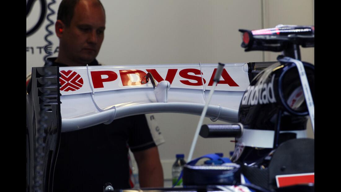 Williams Heckflügel GP Kanada 2012