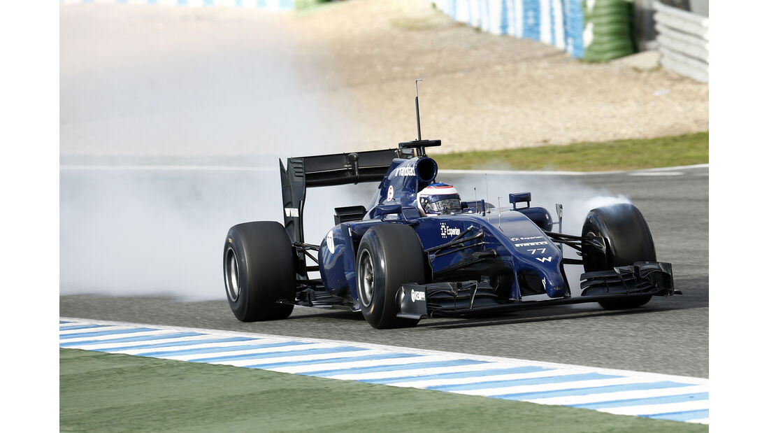Williams - Jerez-Test 2014
