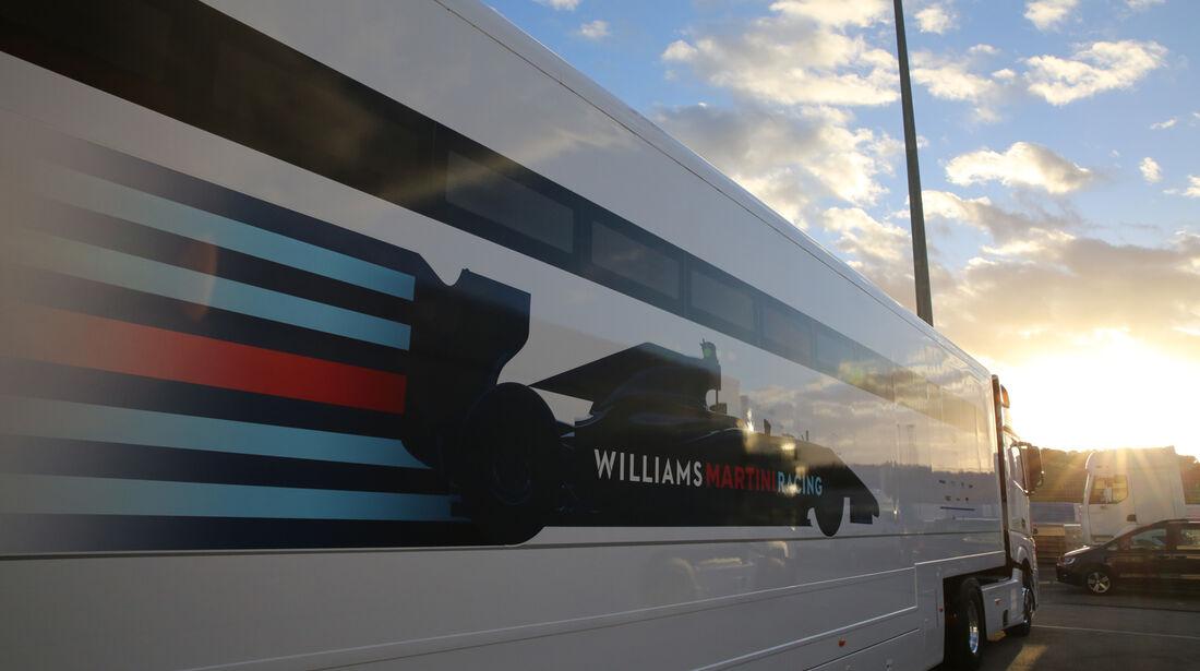 Williams - Jerez Test 2015
