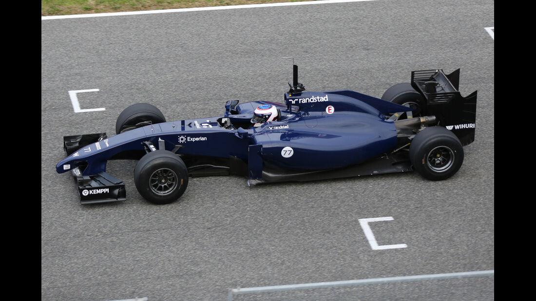 Williams - Jerez-Test - Formel 1 - 2014