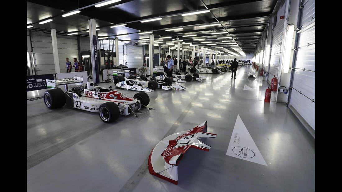 Williams - Jubiläum - Feier - Silverstone 2017