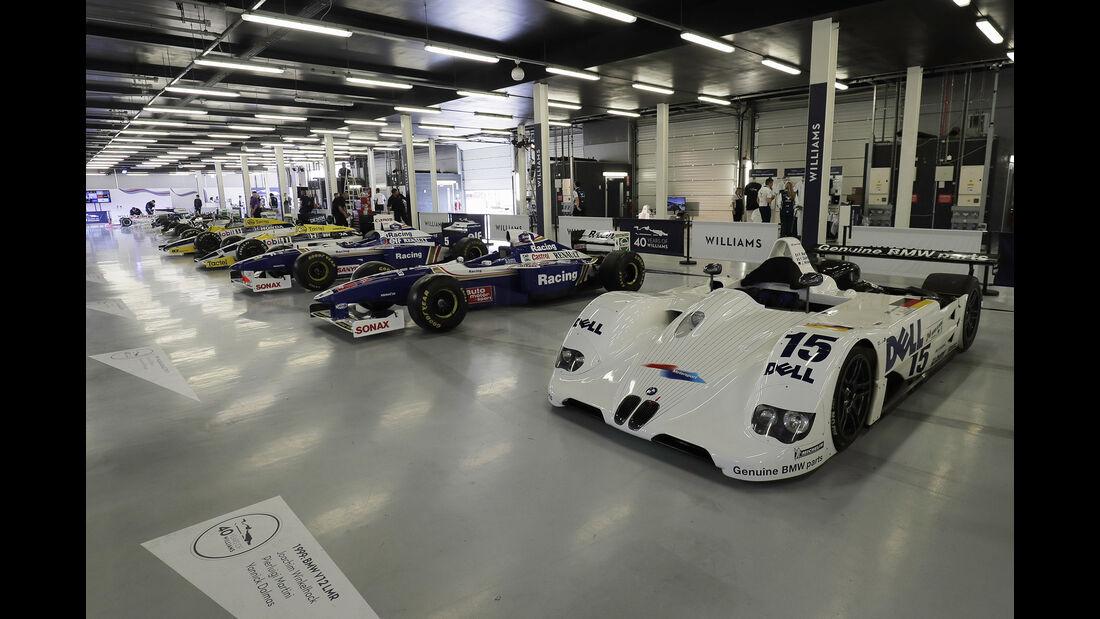 Williams-Jubiläum - Silverstone - 2017