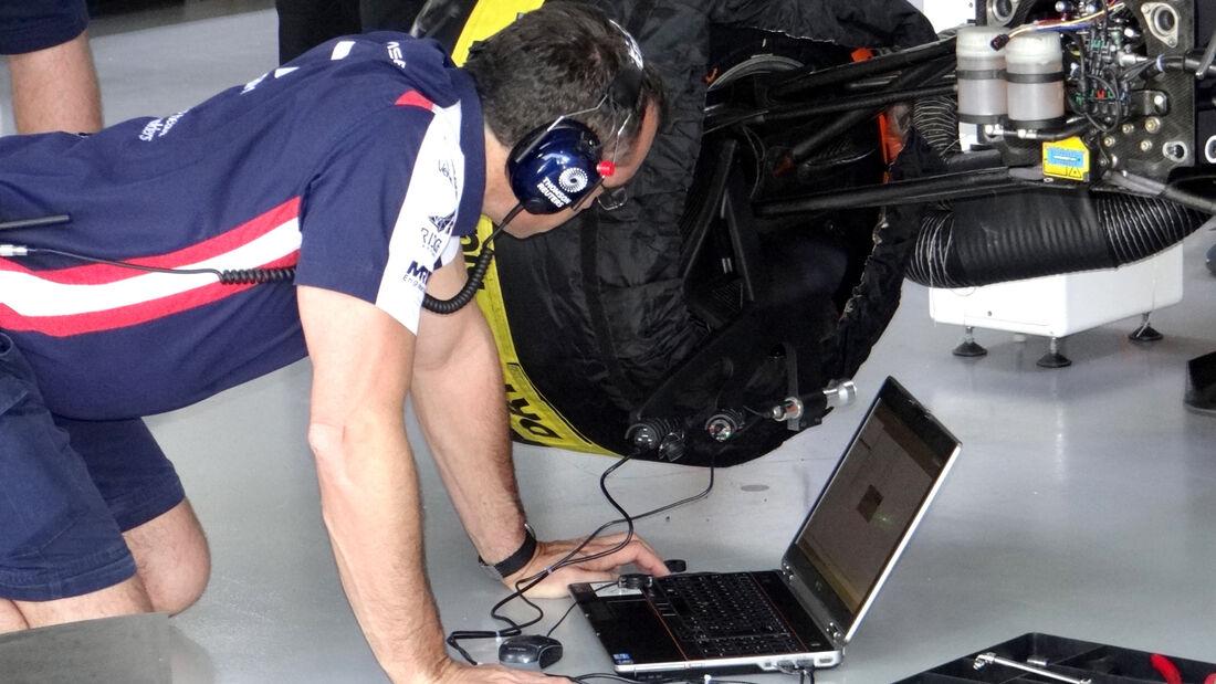Williams Laser GP Brasilien 2012