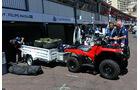 Williams - Logistik - GP Monaco 2016