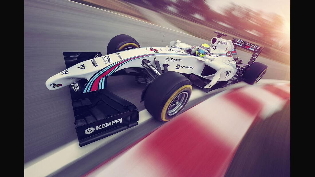 Williams Martini Racing, Formel 1, Felipe Massa, 03/2014