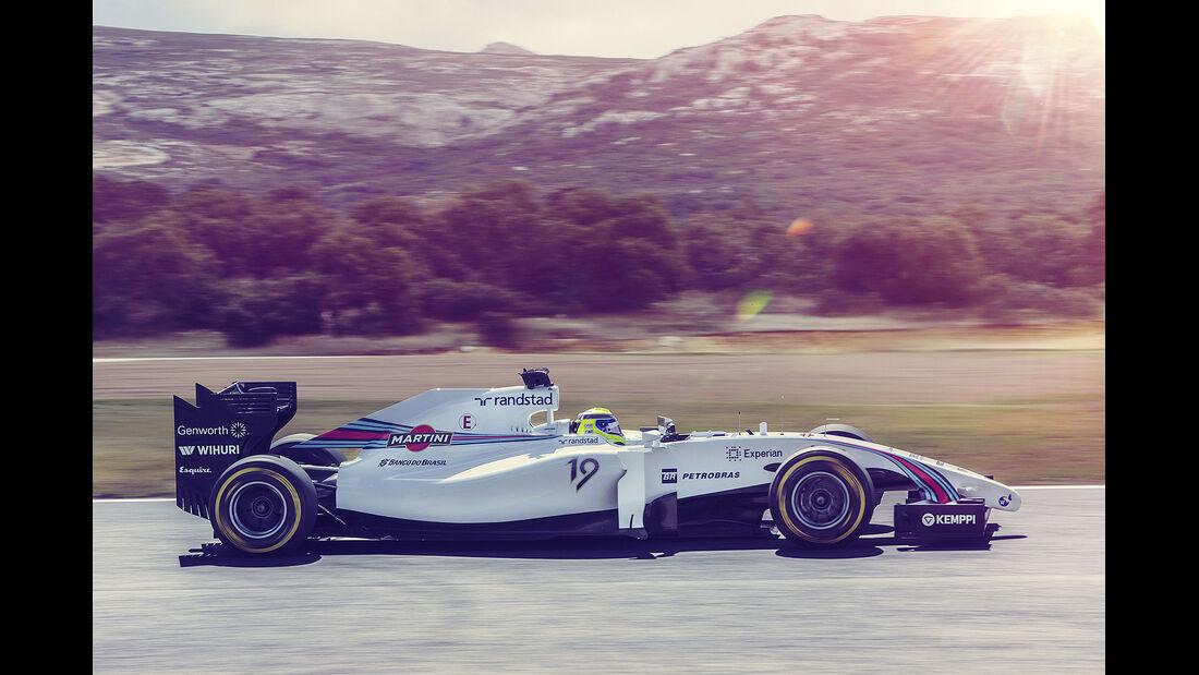 Williams Martini Racing, Formel 1, Felipe Massa