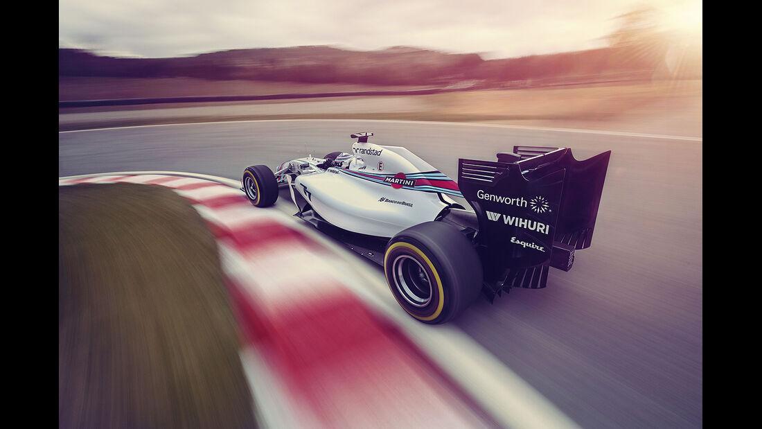 Williams Martini Racing, Formel 1, Valtteri Bottas, 03/2014