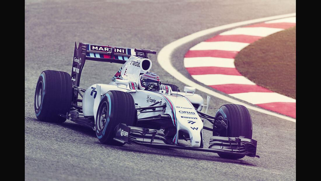 Williams Martini Racing, Formel 1, Valtteri Bottas