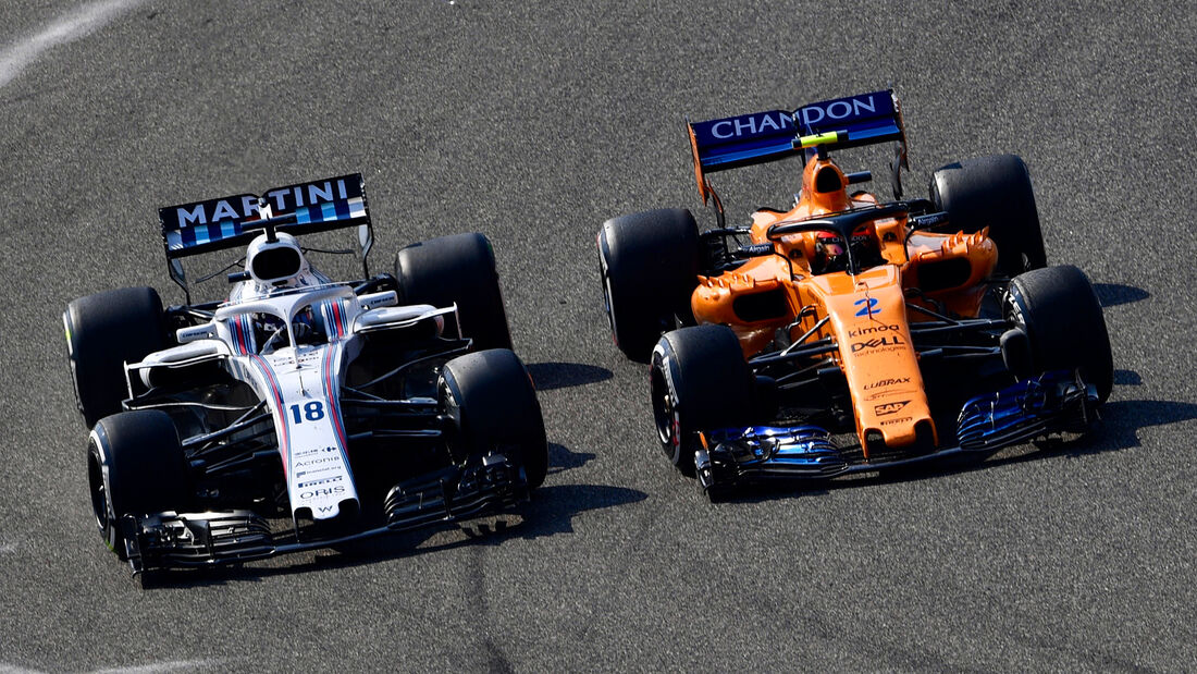 Williams & McLaren - GP China 2018