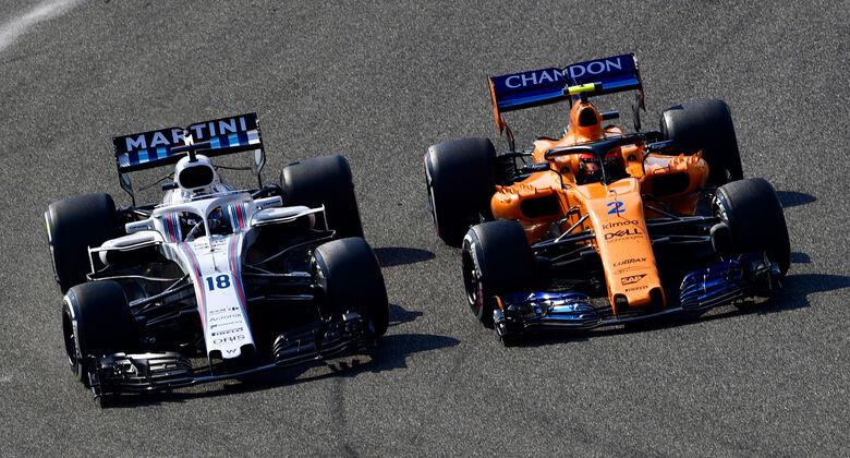 Williams & McLaren - GP China 2018